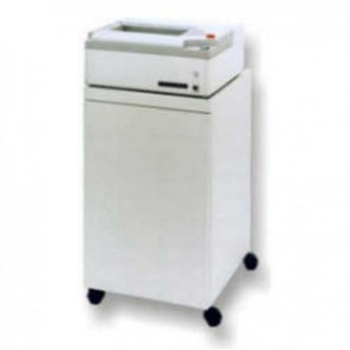 Oztec 800l-EC Strip Cut Paper Shredder w/Enclosed High Capacity Cabinet