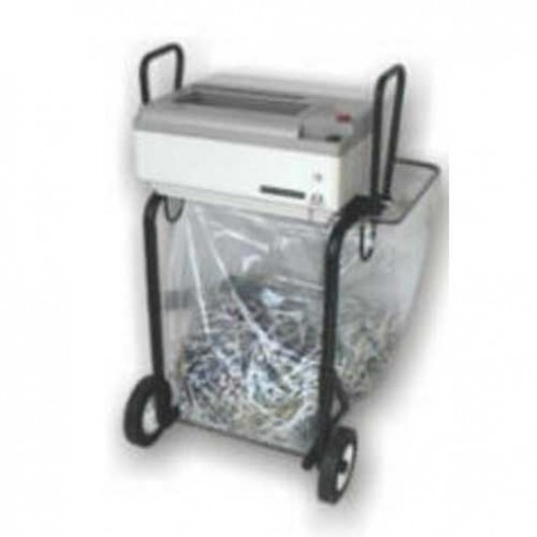 Oztec 1675-FS Strip Cut Paper Shredder w/Portable Folding Stand