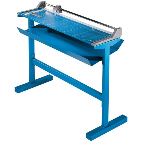 """Dahle 558s Pro Series 51 1/8"""" Large Format Rotary Rolling Trimmers with Stand"""