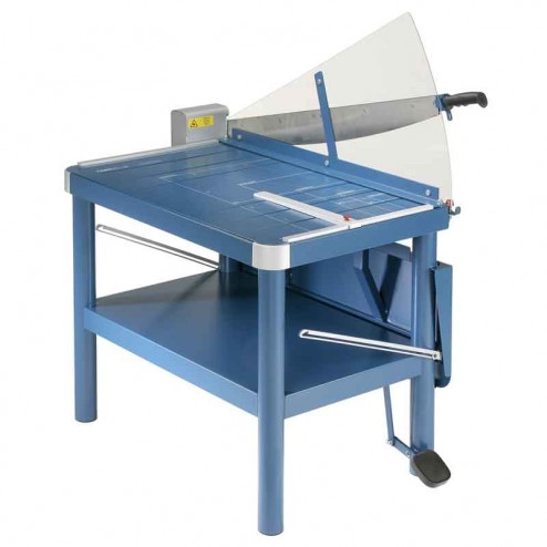"Dahle 580 Large Format 32"" Lever Style Premium Guillotine With Stand"