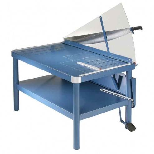 "Dahle 585  Premium 43 1/4""  Large Format  Lever Style Guillotine With Stand"