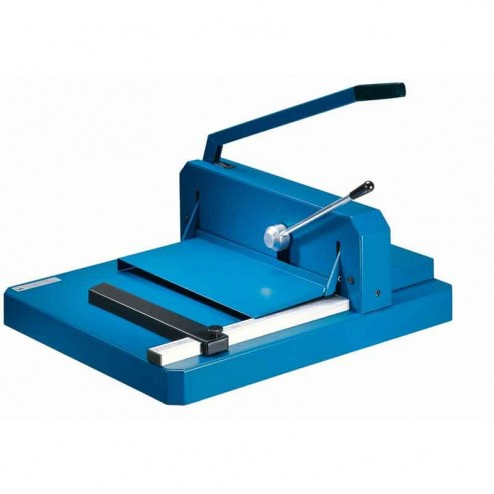 """Dahle 842 Guillotine Style 16 7/8"""" Stack Cutter"""
