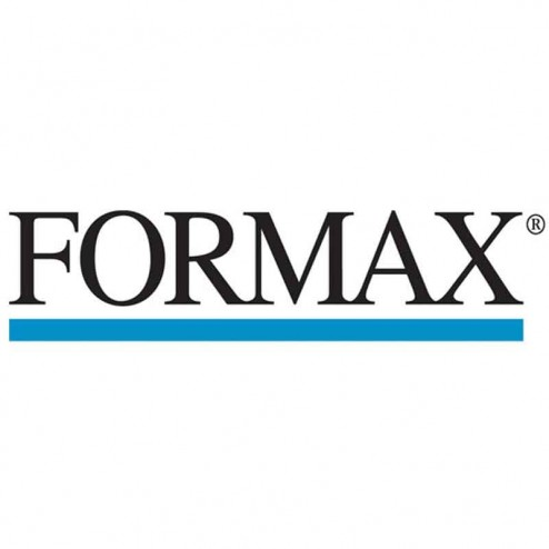 """Formax 262-14 Case of 1.5"""" Tabs Translucent"""