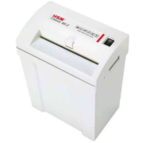 HSM Classic 80.2 Small Office Shredder