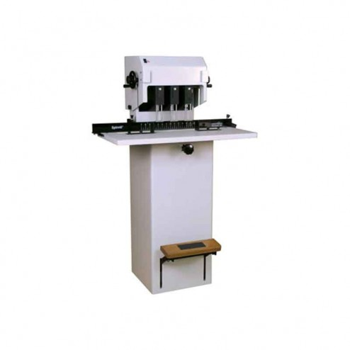 Lassco Wizer  FMMS-3 Manual Lift Three Spindle Paper Drill
