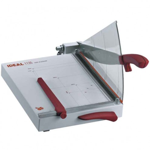 "MBM 1135 Triumph Ideal 13 3/4"" Lever Style Tabletop Guillotine Trimmer"