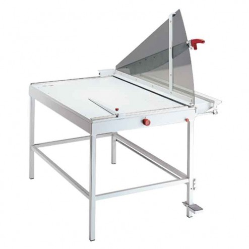 "MBM 1110 Triumph Ideal 43 1/4"" Large Format Floor Model Lever Style Guillotine Trimmer"