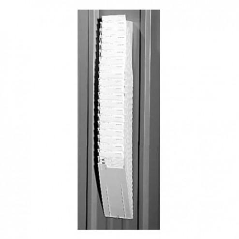 Widmer Rack-PC-25-9 Plastic 25 pocket card rack