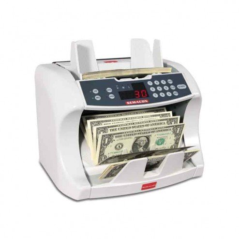 Semacon S-1225 UV/MG Premium Bank Grade Currency Counter with Batching