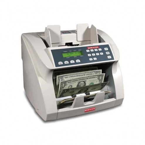 Semacon S-1625 UV/MG Premium Bank Grade Currency Counter with Batching