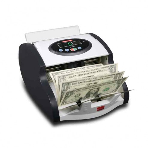 Semacon S-1025 MINI UV/MG Compact Currency Counter with Batching