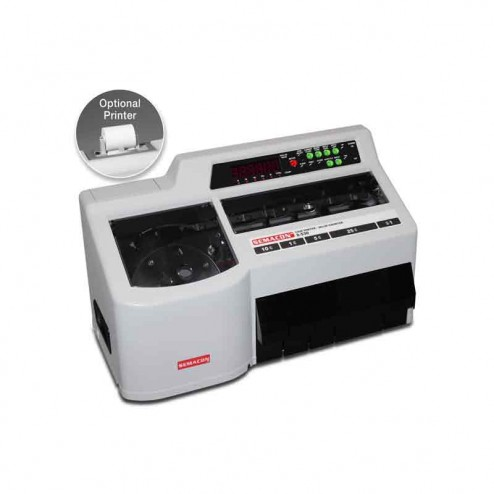 Semacon S-530 Table Top Heavy Duty Coin Sorter and Value Counter