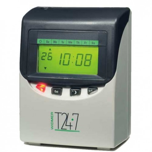 Widmer T24-7 Totalizing Time Clock