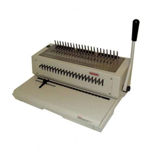 Tamerica TCC210EPB Letter Size Electric Punch/Manual Bind Machine