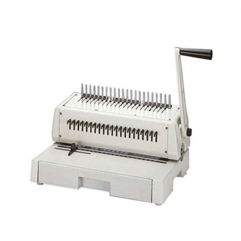 Tamerica 213PB Plastic Comb 3-Hole Punch Binding Machine