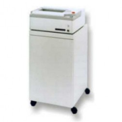 Oztec 800l-EC Strip Cut Paper Shredder w/Enclosed High Capacity Cabinet