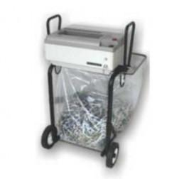 Oztec 1675-FS Strip Cut Paper Shredder w/Portable Folding Stand