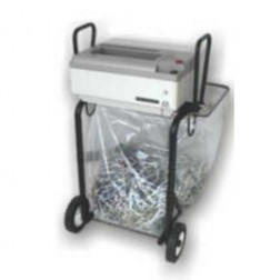 Oztec 1050-FS Strip Cut Paper Shredder w/Portable Folding Stand