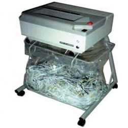 Oztec 1675-OS Strip Cut Paper Shredder w/Open Stand