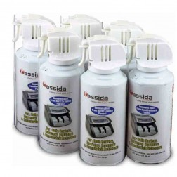 Cassida 6-Pack of 3.5oz Air Duster for Electronic Equipment A-AIR