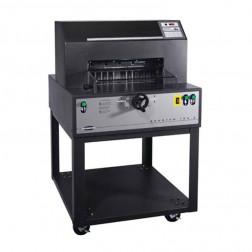 "Challenge Spartan 185SA Semi Automatic 18 1/2"" Ream Paper Cutter"