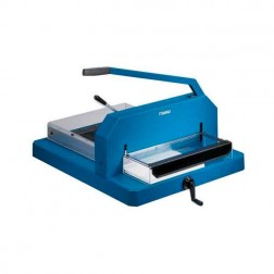 "Dahle 846 Heavy Duty 16 7/8"" Guillotine Style Stack Cutter"