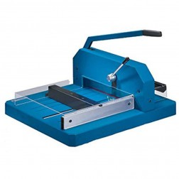 "Dahle 848 Heavy Duty 118 5/8"" Guillotine Style Stack Cutter"