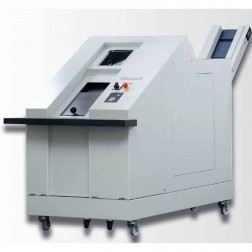HSM HDS 230-3 Large cut Hard Drive Media Single Stage Shredder