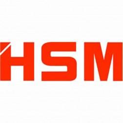 HSM 95 gallon shred cart