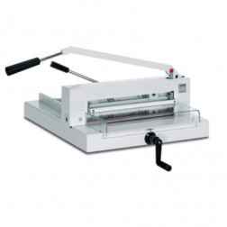 "MBM 4305 Triumph Manual 16 7/8"" Tabletop Stack Cutter"