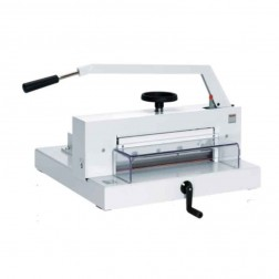 "MBM 4705 Triumph Manual 18 3/4"" Tabletop Stack Cutter"