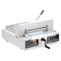 "MBM 4315 Triumph Semi Automatic 16 7/8"" Tabletop Stack Cutter"