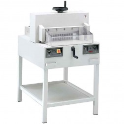 "MBM 4815 Triumph Semi Automatic 18 5/8"" Tabletop Stack Cutter"