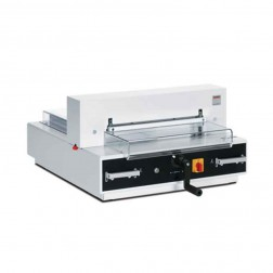 "MBM 4350 Triumph Fully Automatic 16 7/8"" Tabletop Stack Cutter"