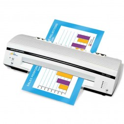 "Royal Sovereign 13"" Thermal and Cold 4 Roller Pouch Laminator APL-330U"