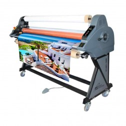 "Royal Sovereign 65"" Cold Pressure Sensitive Roll Laminator RSC1651LS"