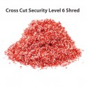 Formax FD 8650HS Office High Security Cross Cut Shredder w/ Auto Oiler