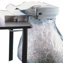 "Kobra 385 SS4/7 1/4"" StripCut DeskTop Departmental Shredder"