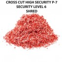 HSM 390.3L6 Cross Cut Shredder Auto Oiler