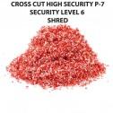 HSM 125.2L6 Cross Cut Shredder Auto Oiler